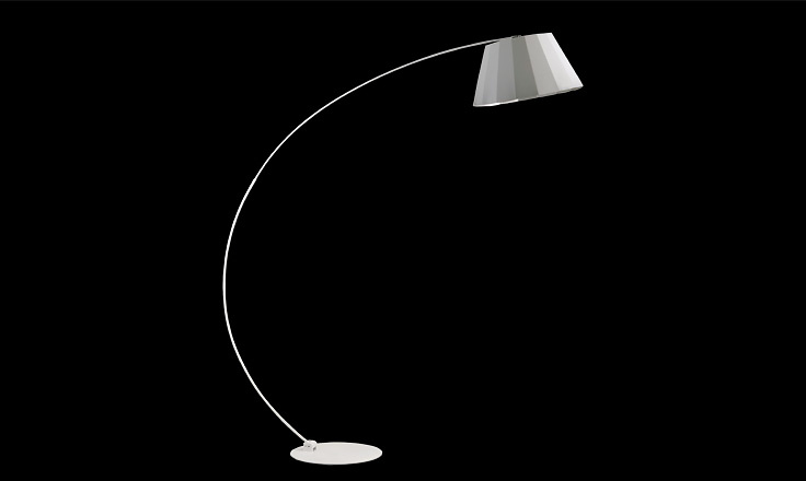 Carlo Zerbaro and Alessandro Trentin Lotus Floor Lamp