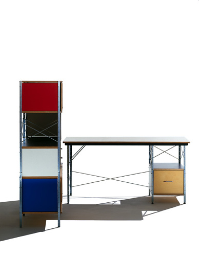 Charles Eames and Ray Eames Eames Desk And Storage Units