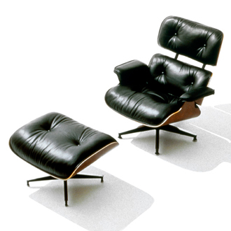 Charles Eames and Ray Eames Eames Lounge Chair And Ottoman