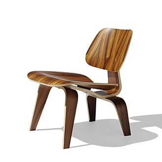 Charles Eames and Ray Eames Eames Molded Plywood Chairs