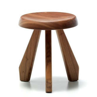 Cassina - Tabouret charlotte perriand ...