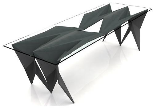 Chris Kabatsi Stealth Coffee Table