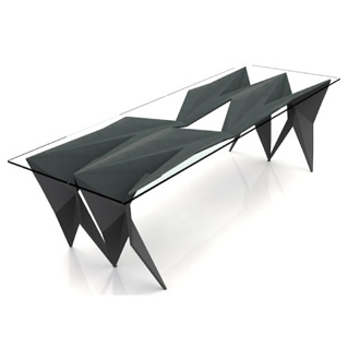 Chris Kabatsi Stealth Coffee Table