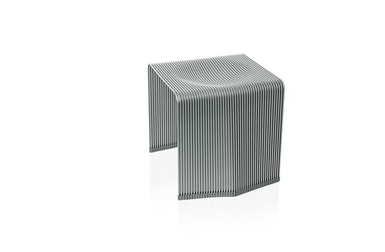 Christoph Böninger Aluminium Stool