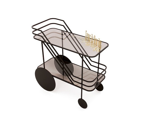 Christophe De La Fontaine Come As You Are Bar Cart