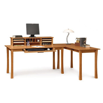 Copeland Furniture Berkeley Desk, Return And Desktop Organizer