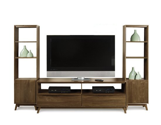Copeland Furniture Catalina Tv Stand And Bookcases