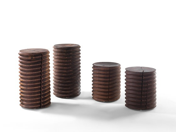 Natura Collection By Riva 1920 Vitae Stool