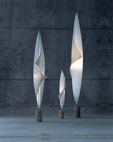 Dagmar Mombach and Ingo Maurer Und Team Wo-Tum-Bu 1, 2, 3 Lamp Collection