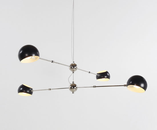 David Weeks Cross Boi Chandelier No. 420