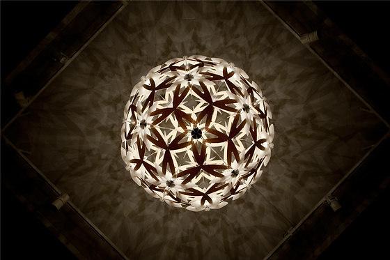 David Trubridge Manuka Pendant Lamp