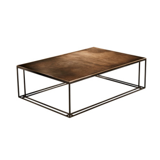 Dean Almond, Richy Almond and Mark McCormick Brass Binate Coffee Table