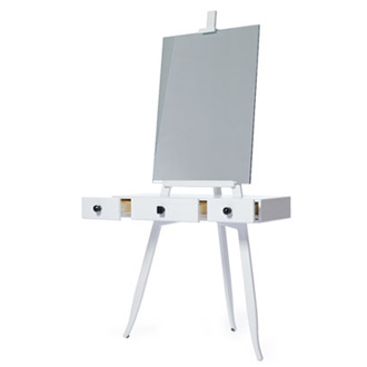 Ding 3000 Pearl Make-up Dressing Table