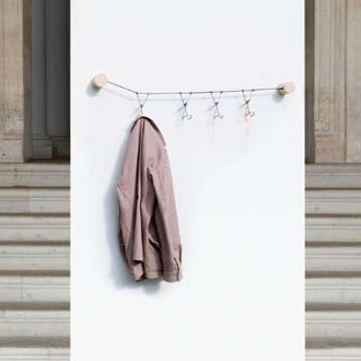 Emili Padros and Ana Mir Slastic Coat Rack