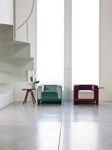 Emilio Nanni Kirk Seating Collection