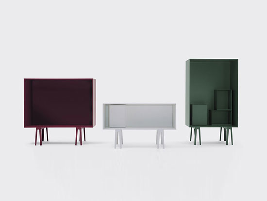 Erwan and Ronan Bouroullec Butterfly Cabinets