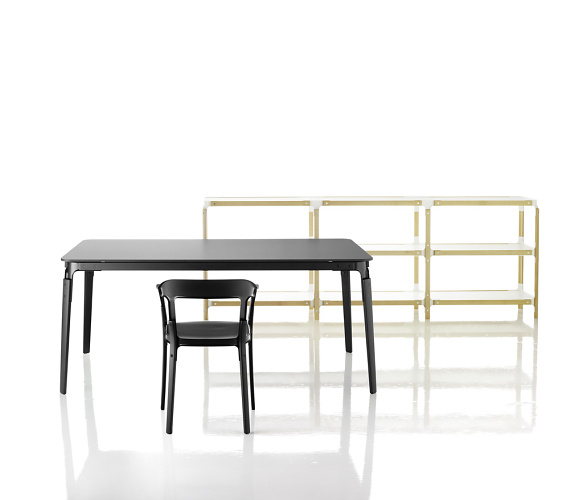 Erwan Bouroullec and Ronan Bouroullec Steelwood Shelving System