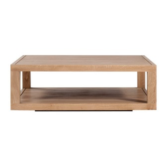 Ethnicraft Oak Duplex Table Collection