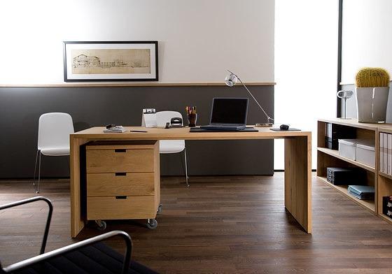 Ethnicraft Oak Office U Table