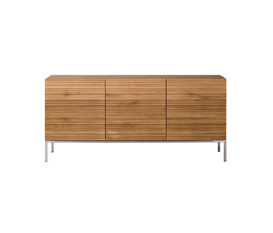 Ethnicraft Oak Stonecut Sideboard Collection