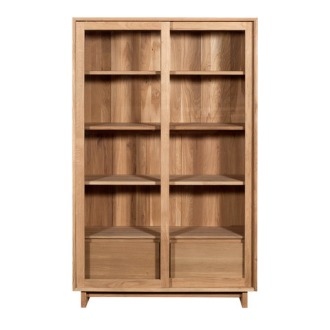 Ethnicraft Oak Wave Storage Shelf