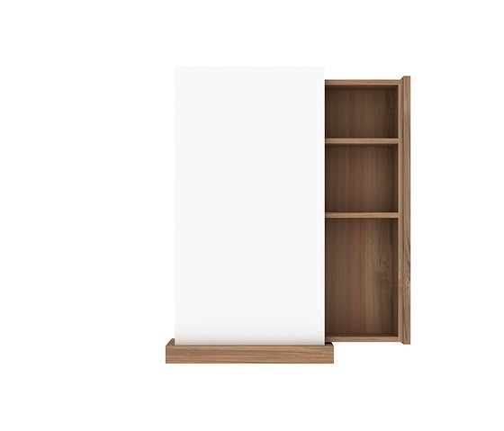 Ethnicraft Teak Bathroom Square Mirror
