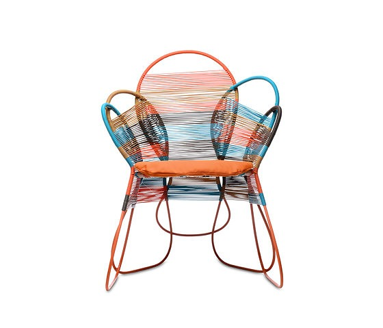 Federica Capitani Trame Seating Collection