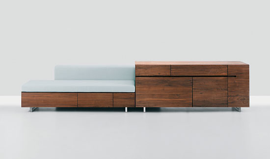 Formstelle, Claudia Wiedemann and Jörg Kürschner Podest Sideboard