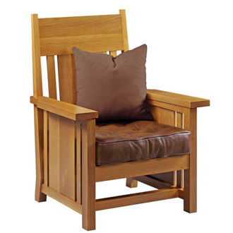 Frank Lloyd Wright Dana-Thomas Occasional Chair
