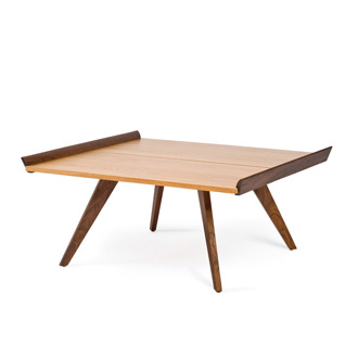George Nakashima Splay - Leg Table And Tray