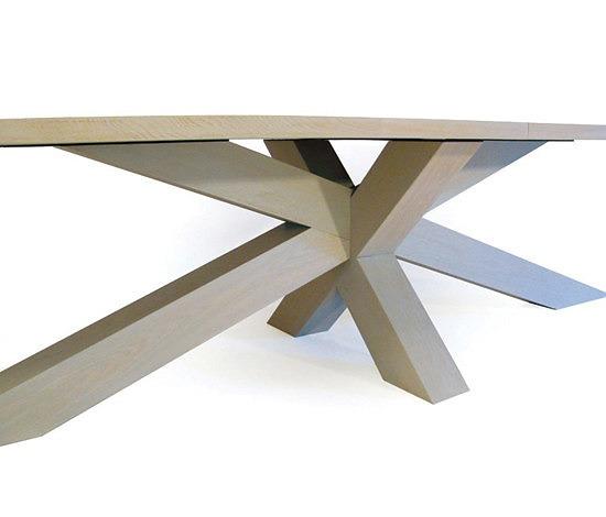Gerard Der Kinderen Crosstable 4-Beam L Table