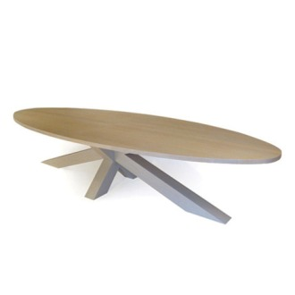 Gerard Der Kinderen Crosstable 4-Beam XL Table