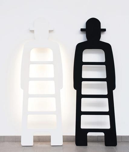 Giò Colonna Romano Mr. Gio Sculpture Ladder
