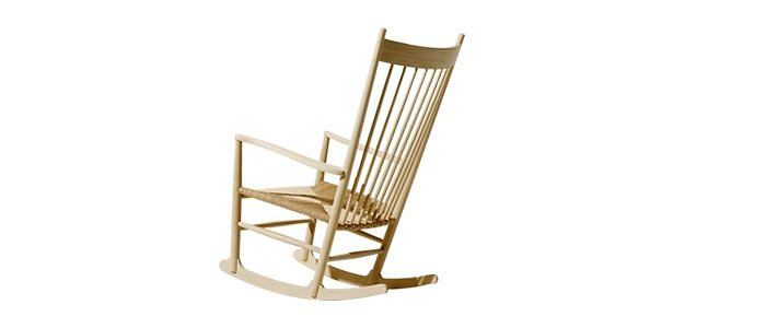 hans j wegner j16 rocking chair. Black Bedroom Furniture Sets. Home Design Ideas