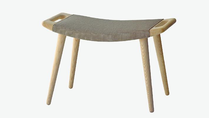 Hans J. Wegner PP120 Footstool