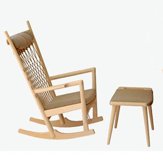 Hans J. Wegner PP124 The Rocking Chair
