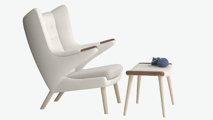 Hans J. Wegner PP19 The Teddy Bear Chair