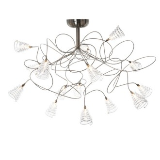 Harco Loor Spiral Ceiling Light