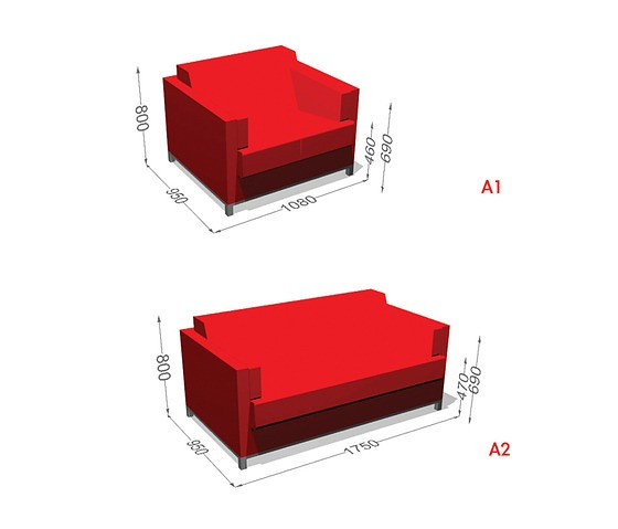 Harri Korhonen Double Up Sofa Bed