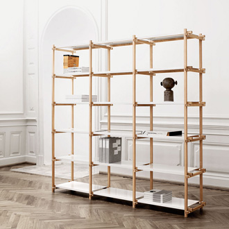 HAY Studio Woody Shelving