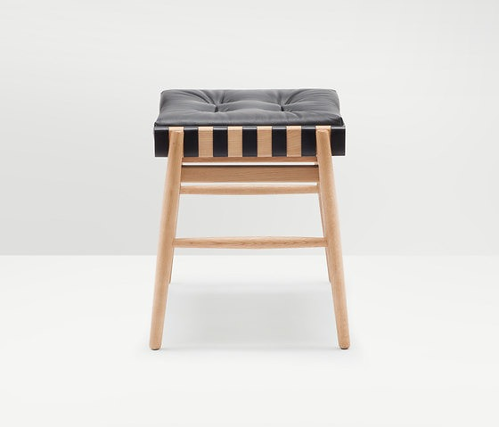 Hierve Leather Stool