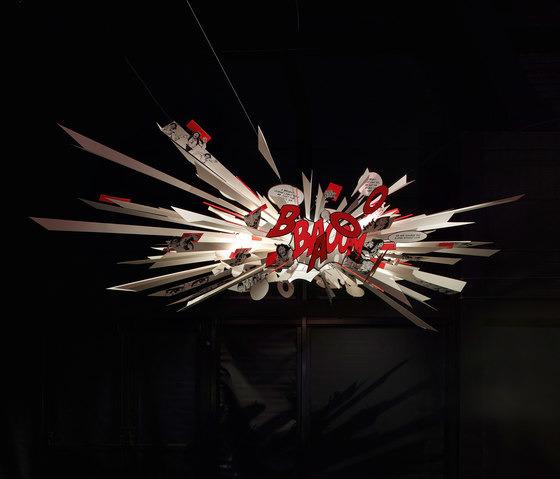 Ingo Maurer Comic Explosion Lamp