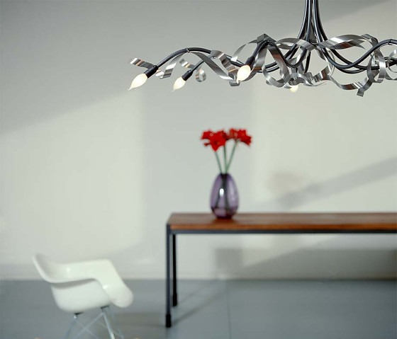 Jacco Maris Ruban Plié Lamp Collection