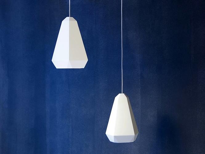 James Bartlett Portland Plaster Lamp