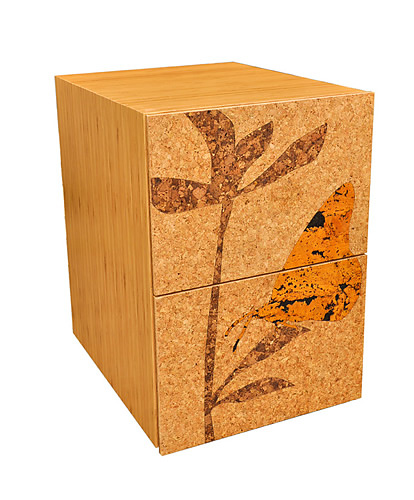 James Sanderson and Michael Iannone Cork Filing Cabinets