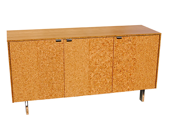 James Sanderson and Michael Iannone Green Mod Cork Credenza