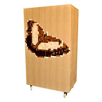 James Sanderson and Michael Iannone 8-bit Armoire