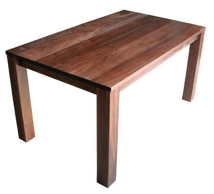 James sanderson and michael iannone simple wood dining table for Simple wood dining table
