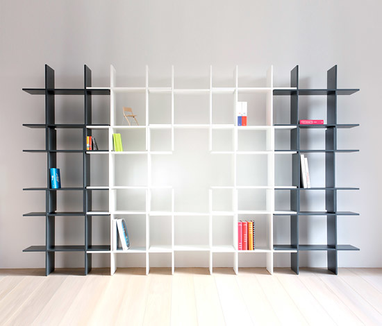 Jan Ulmer SpaceCross Shelving