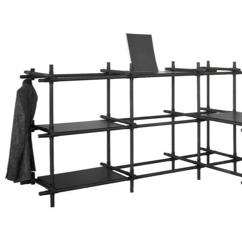 Jan Plecháč and Henry Wielgus Stick System Shelving Systems